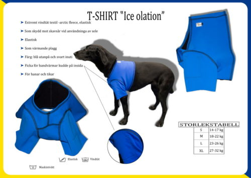 T-shirt Ice Olation